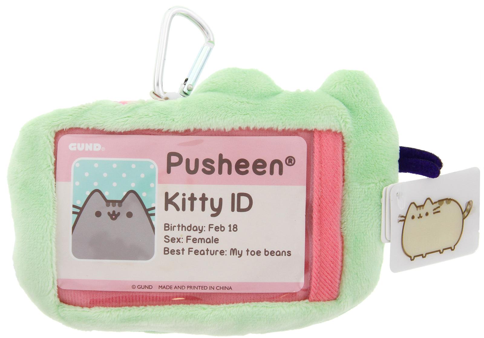 Pusheen: ID Holder Wallet Case - Pastel Green image