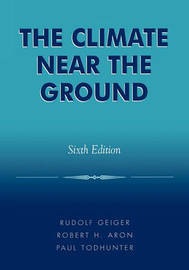 The Climate Near the Ground by Rudolf Geiger image