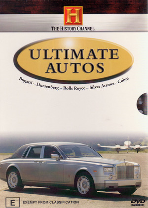 Ultimate Autos (History Channel) (3 Disc Box Set) on DVD image