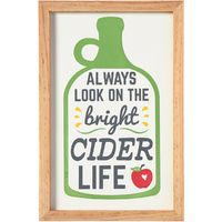 Cider Wall Sign