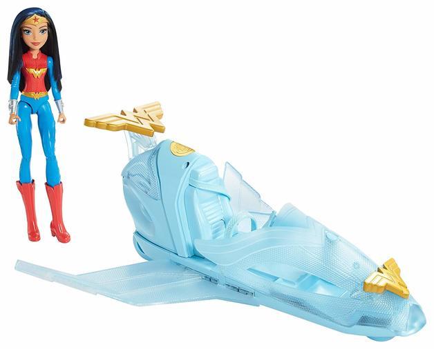 DC Super Hero Girls - Wonder Woman Invisible Jet Playset