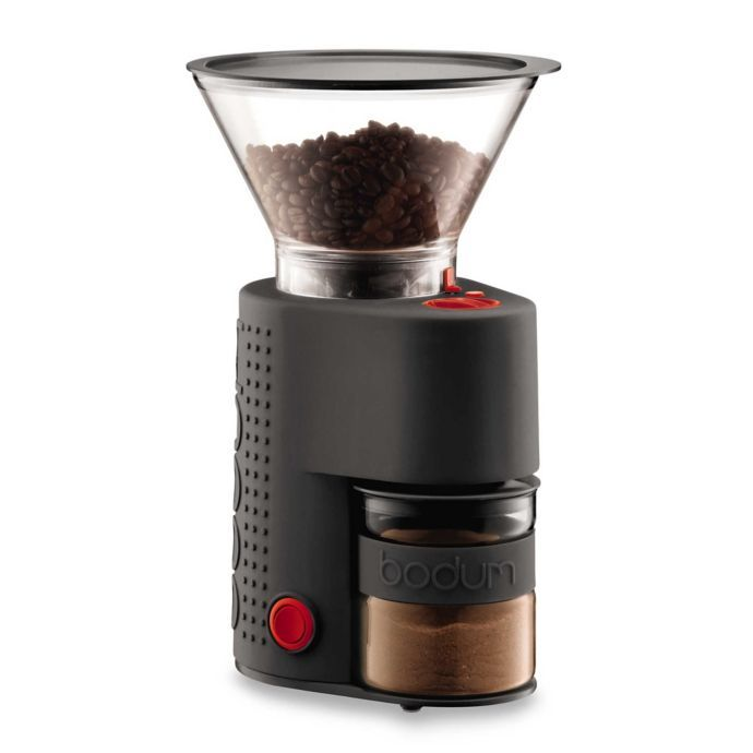 Bodum: Bistro Electric Burr Coffee Grinder - Black image