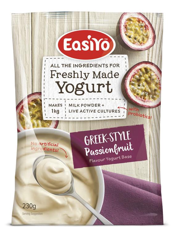 EasiYo: Greek-Style Passionfruit (230g) - 8-Pack