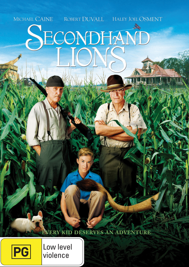 Secondhand Lions on DVD image