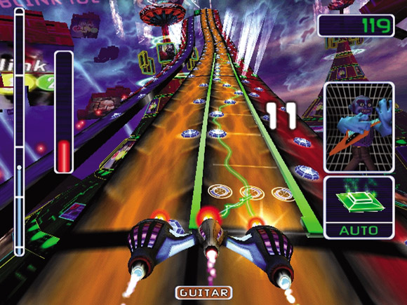 Amplitude for PS2 image