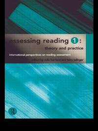 Assessing Reading 1: Theory and Practice by Colin Harrison image