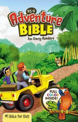 NIrV, Adventure Bible for Early Readers, Hardcover, Full Color by Zonderkidz