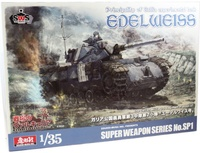 Valkyria Chronicles: 1/35 Experimental Tank Edelweiss - Model Kit