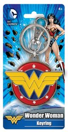 Wonder Woman - Logo Colour Enamel Keychain