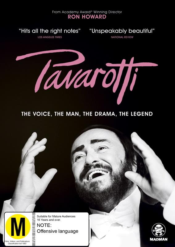 Pavarotti on DVD