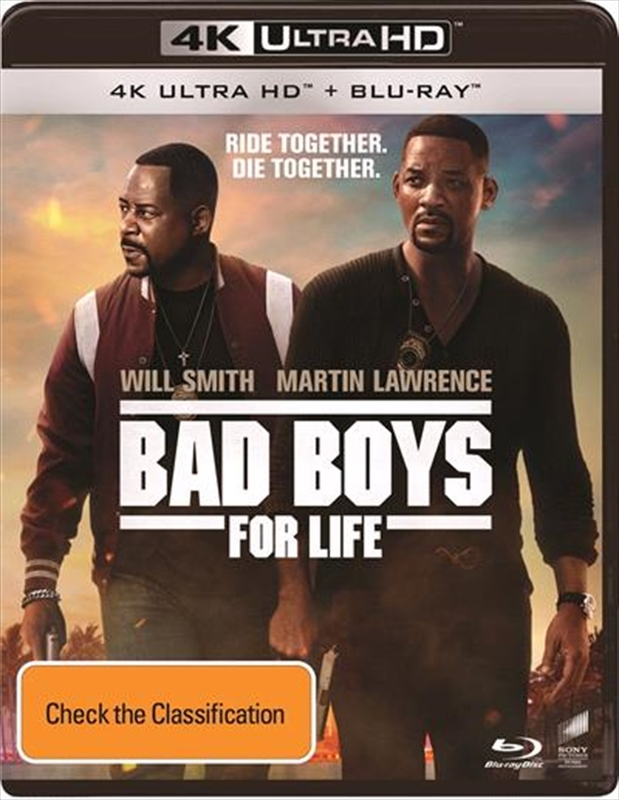Bad Boys for Life (4K Ultra HD Blu-ray) on UHD Blu-ray