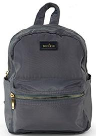 Kedzie: Mainstreet Mini Backpack - Grey image