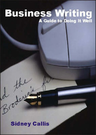 Business Writing by Sidney Callis image