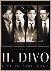 An Evening With Il Divo - Live in Barcelona (DVD / CD) on DVD