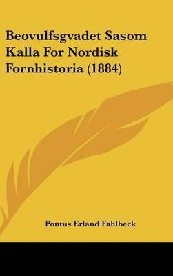 Beovulfsgvadet Sasom Kalla for Nordisk Fornhistoria (1884) by Pontus Erland Fahlbeck image