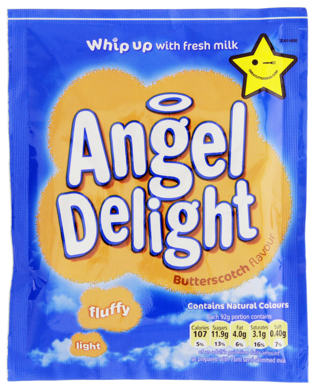 Angel Delight Butterscotch Instant Dessert Mix (59g)