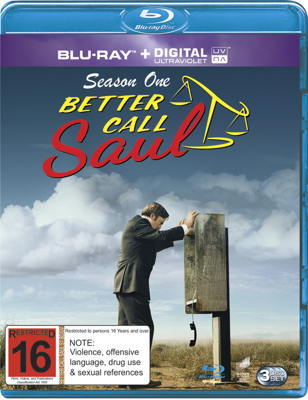 Better Call Saul - The Complete First Season on Blu-ray