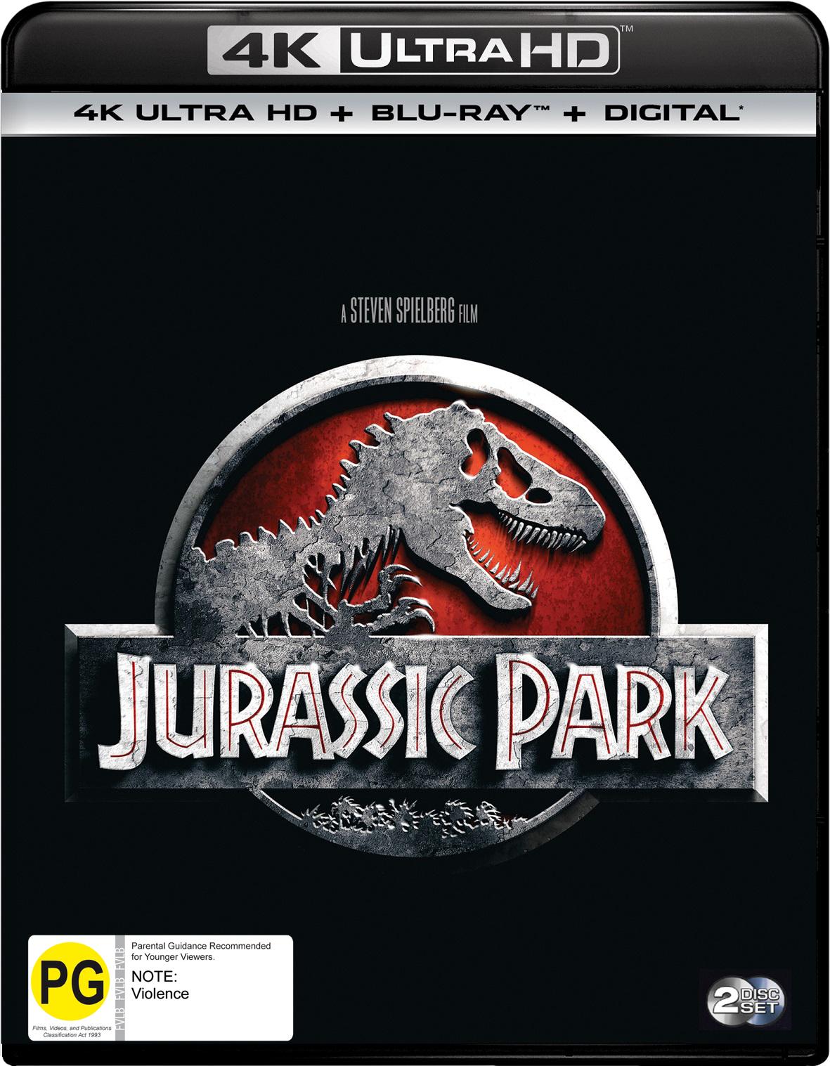 Jurassic Park on UHD Blu-ray image