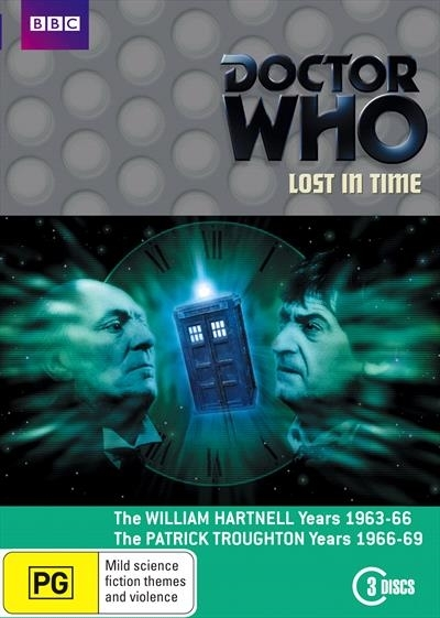 Doctor Who: Lost in Time on DVD