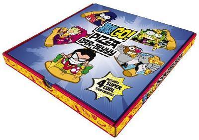 Teen Titans Go! Pizza Box Set