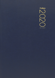 Collins: 2020 Daily A51 Diary - Navy image
