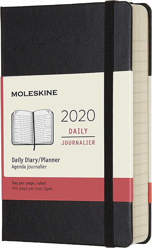 Moleskine: 2020 Diary Pocket Hard Cover 12 Month Daily - Black
