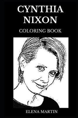 Cynthia Nixon Coloring Book by Elena Martin image