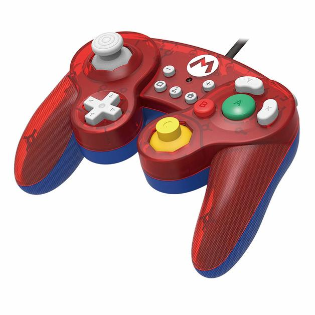 Nintendo GameCube Controller Super Smash Bros Edition (Mario) for Switch