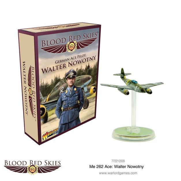 Blood Red Skies: Me 262 Ace Walter Nowotny
