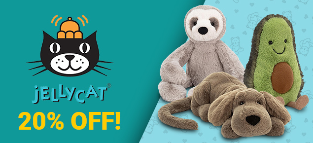 20% off Jellycat!