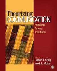 Theorizing Communication by Robert T. Craig image