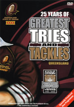 NRL - 25 Years Of Greatest Tries And Tackles: Queensland on DVD