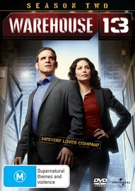 Warehouse 13 - Season Two on DVD