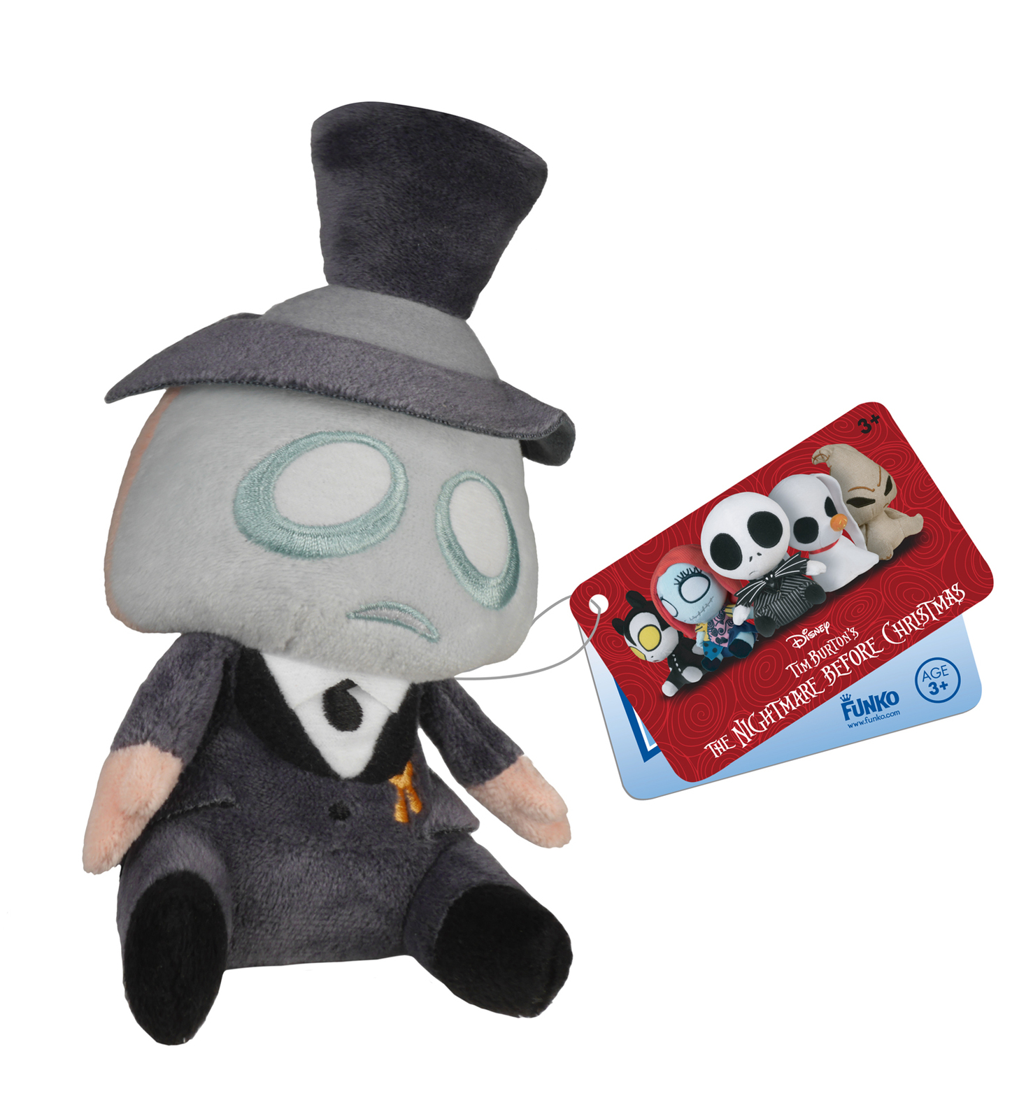 Nightmare Before Christmas Mopeez - Mayor Plush | Toy | at Mighty Ape NZ