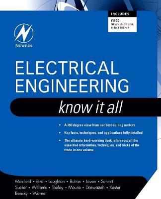 Electrical Engineering: Know It All by Clive Maxfield image