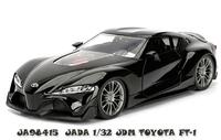 Jada 1/32 Jdm Toyota Ft-1 - Diecast Model (Black)