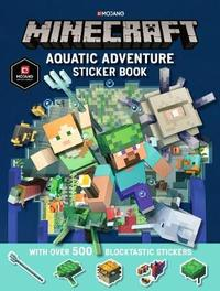 Minecraft Aquatic Adventure Sticker Book by Mojang AB