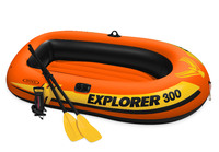 "Intex: Explorer 300 - Inflatable Boat (83"" x 46"")"
