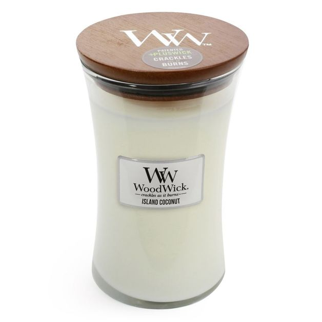 Woodwick Candle - Island Coconut (Large)