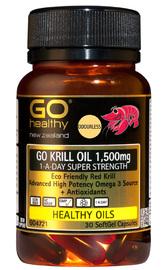 GO Healthy - GO Krill Oil 1500mg 1-A-Day (30caps)