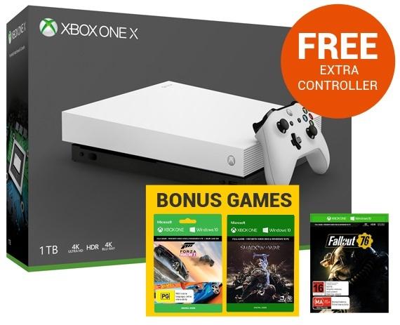 Xbox One X 1TB Fallout 76 Console Bundle - White Screenshots at