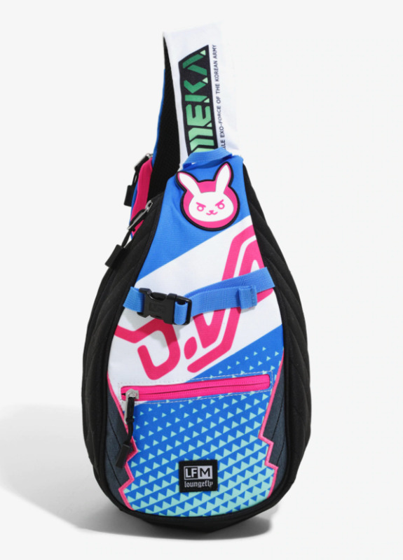 Loungefly: Overwatch - D.Va Sling Backpack