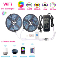WiFi Wireless Smart Phone Controlled Light Strip - 10 Meters