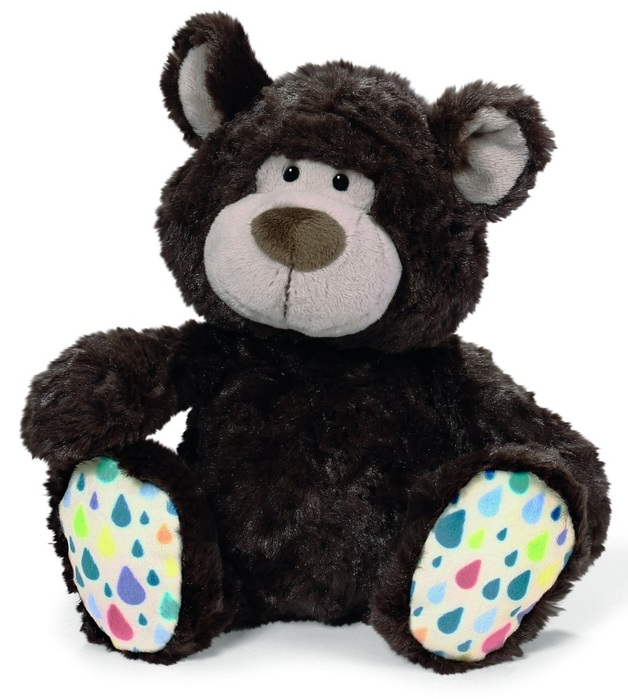 NICI: Dark Brown Bear Classic Plush (25cm)