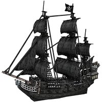 Cubic Fun: The Queen Anne's Revenge - Blackbeards Ship - 308 Piece 3D Puzzle