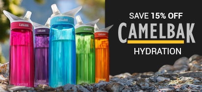 15% off Camelbak Hydration!