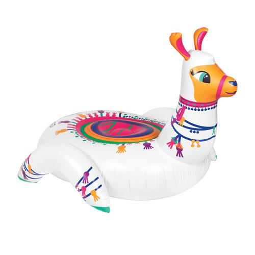 Pumpt: Llama Ride-On - Inflatable Pool Float
