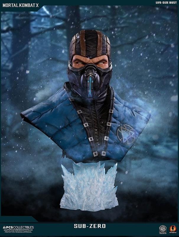 Mortal Kombat X: Sub-Zero - Life-Size Bust