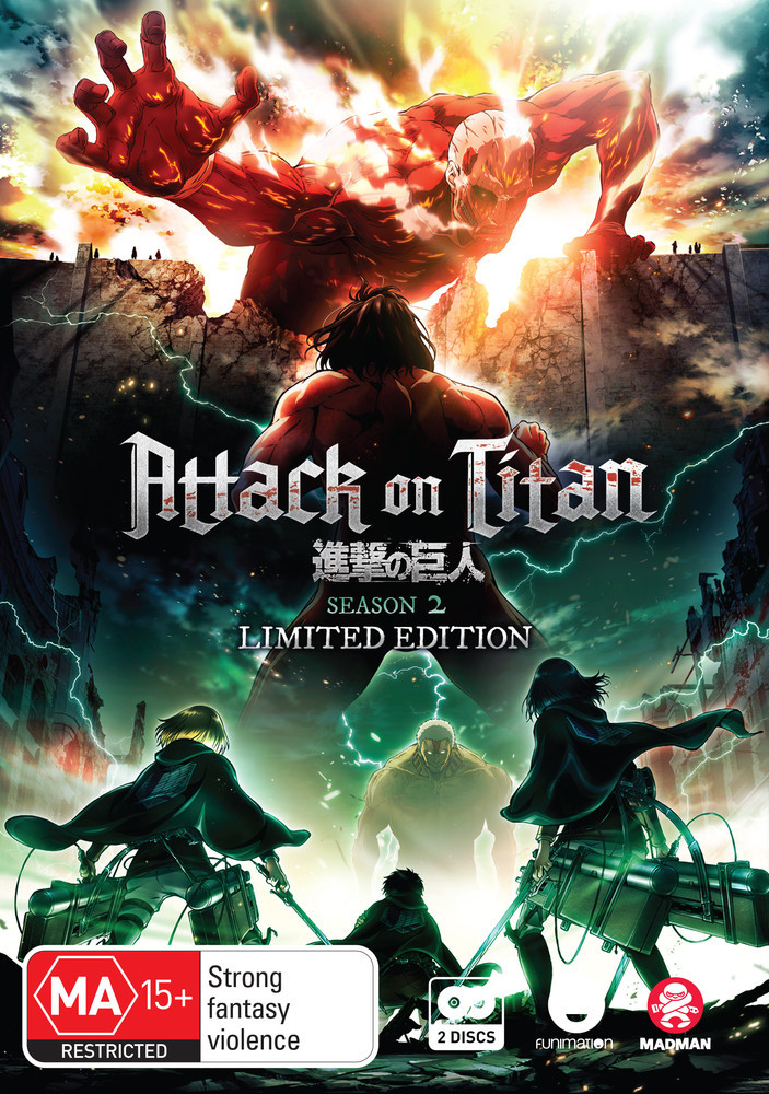 Attack On Titan - Complete Season 2 (Limited Collector's Edition) on DVD image