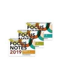 Wiley CIA Exam Review Focus Notes 2019 by S.Rao Vallabhaneni